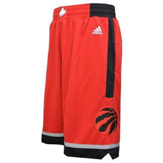 NBA raptors shorts road adidas Revolution Swingman shorts