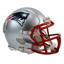NFL ペイトリオッツ ミニヘルメット リデル/Riddell Mini Replica Helmet SPEED