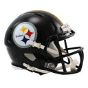 NFL スティーラーズ ミニヘルメット リデル/Riddell Mini Replica Helmet SPEED