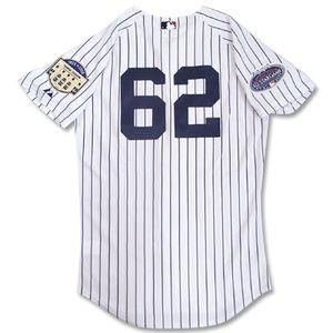 2008 (home) MLB Yankees #62 ジョバ Chamberlain Authentic Player uniform Stadium Final&All Star Majestic