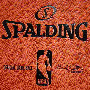 NBAバインダーA4サイズ(オレンジ)SPALDING【ノート】【スポルディング】