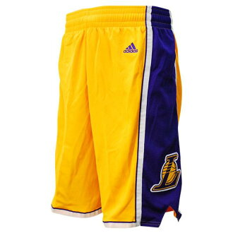 Adidas Los Angeles Lakers NBA Revolution Swingman shorts (home)