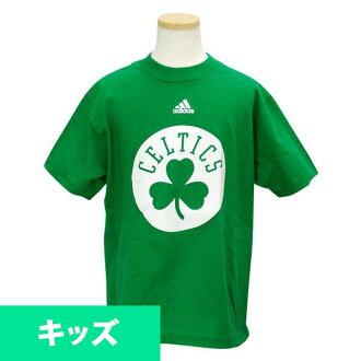 Adidas NBA Boston Celtics Youth Full Primary Logo T shirt (green)