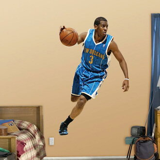 NBA Fathead Real Big sticker Hornets Chris Paul (CP3)