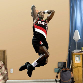 NBA Fathead Real Big sticker Blazers Clyde Drexler