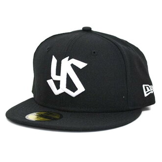Tokyo Yakult Swallows Custom Color Cap 2013 alter logo (black / white) New Era