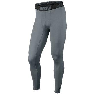 耐克 Jordan /NIKE 約旦內在緊身衣超酷灰色 / 黑色 AJ 所有季節 COMP 緊