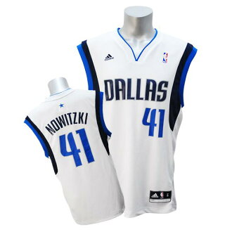 Adidas NBA Mavericks # 41 dark Nowitzki Revolution Replica Jersey (home)