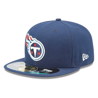 NFL Tennessee Titans Sideline 59FIFTY Football Structured Fitted cap New Era