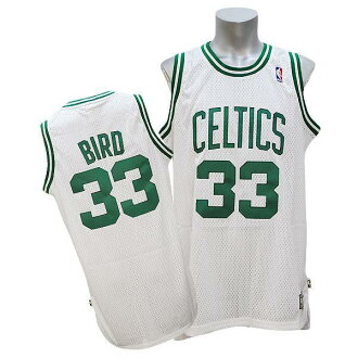 Adidas NBA Celtics # 33 Larry Bird Soul Swingman Jersey (home)
