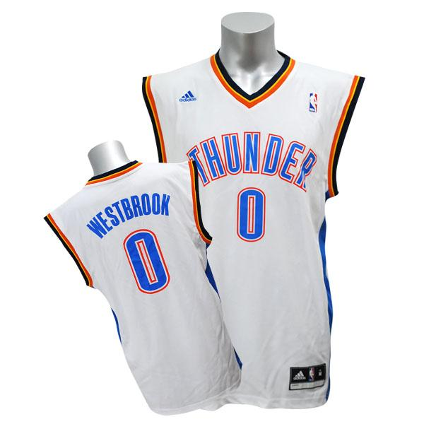 NBA sander #0 rale Westbrook Revolution Replica uniform (home) Adidas