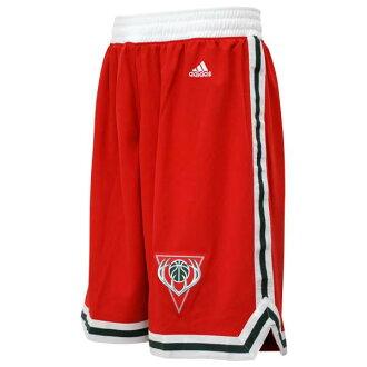 Adidas NBA Milwaukee Bucks Revolution Swingman shorts (alternate)