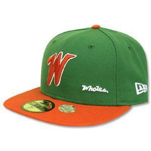 NPB customized classic color Cap (Retro Patch) Taiyo whales Kelly/Orange (1974-77)