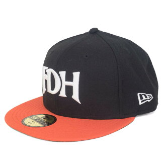 NPB Customized Classic Cap (Retro Series) Fukuoka Daiei hawks (Black/Orange)