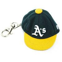 MLB アスレチックス キャップ/帽子 グリーン ニューエラ キャップ Keyholderの画像