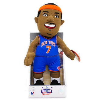& NBA Knicks # 7 Carmelo Anthony Inch Plush Doll Bleacher Creatures