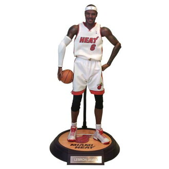 1 / 6 Real masterpiece collectible figure / NBA collections: and LeBron James ENTERBAY