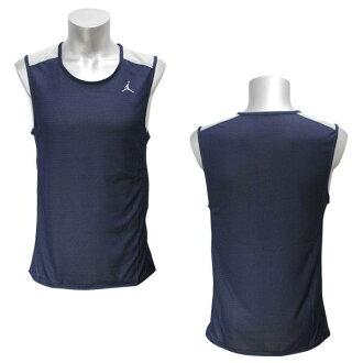 NIKE JORDAN aerofried food flight tank (navy / gray)