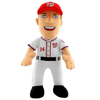 MLB National's #34 blythe Harper 14-Inch Plush Dole Bleacher Creatures