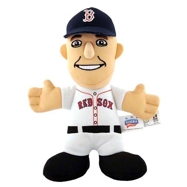 MLB Red Sox #15 Dustin ペドロイア 7-Inch Plush Dole Bleacher Creatures