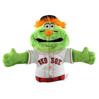 MLB Red Sox Wally the Green Monster Hand パペット Bleacher Creatures