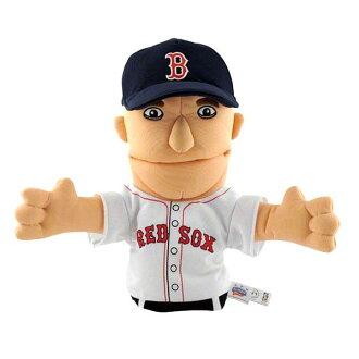 MLB Red Sox #15 Dustin ペドロイア Hand パペット Bleacher Creatures