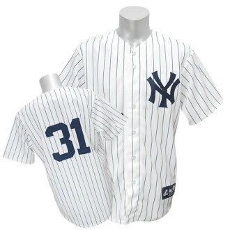 MLB Yankees #31 Ichiro Player Customized Replica Game uniform (home) Majestic