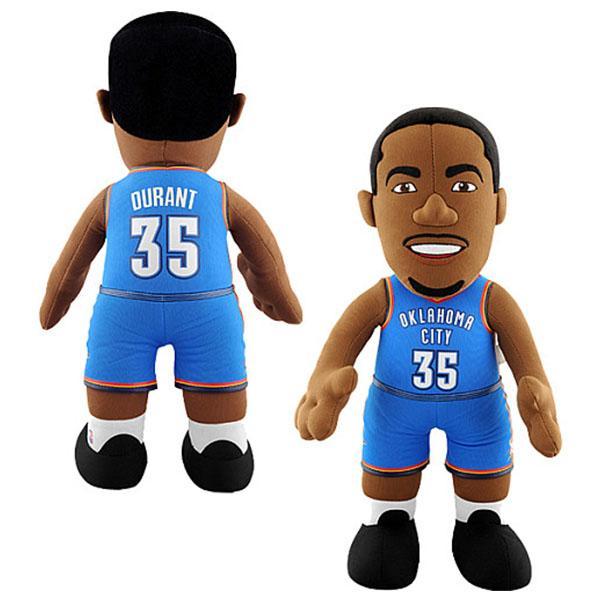 NBA sander #35 Kevin Durant 14-Inch Plush Dole Bleacher Creatures