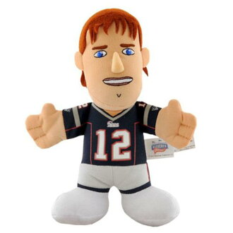 NFL Patriots #12 Tom Brede 7-Inch Plush Dole Bleacher Creatures