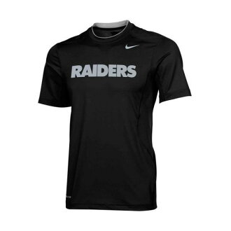 2 NFL Oakland Raiders Dri-FIT Hypercool Speed Performance T-shirt (black) Nike