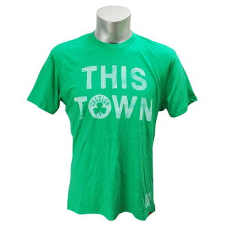 Sportiqe NBA Boston Celtics This Town t-shirt (green)