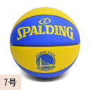 NBA ウォリアーズ チーム ボール SPALDING【7号球】