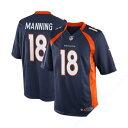 NFL ブロンコス ペイトン・マニング ユニフォーム ネイビーブルー ナイキ Limited ユニフォーム