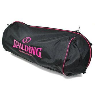 SPALDING trio Ball bag (black/pink)