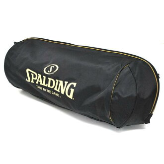 SPALDING trio Ball bag (black/gold)