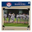 MLB テキサス・レンジャーズ 2014 12×12 Team Wall カレンダー JF Turner【即納可】