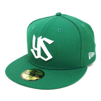 Tokyo Yakult Swallows Custom Color Cap (Kelly/white) New Era