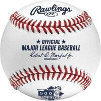 MLB レッドソックス デービッド・オルティス 500本塁打 記念 ボール ローリングス/Rawlingsの画像