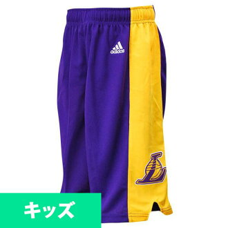NBA Lakers kids sorts road adidas Youth Revolution 30 Replica shorts