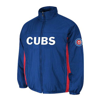 MLB Chicago Cubs Authentic Double Climate On-Field jacket (blue) Majestic