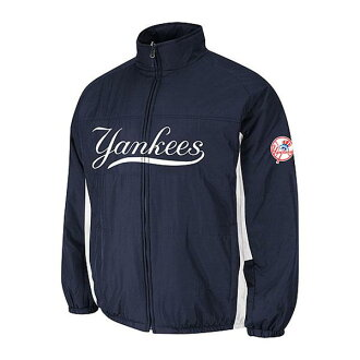 MLB New York Yankees Authentic Double Climate On-Field jacket (navy) Majestic