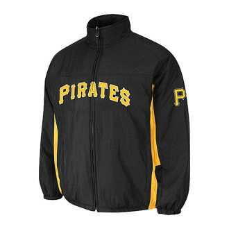 MLB Pittsburgh Pirates Authentic Double Climate On-Field jacket (black) Majestic