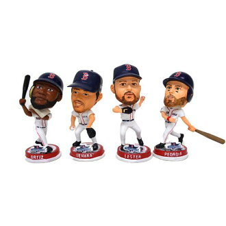 MLB Boston Red Sox 3.5 Bighead Bobble 4 Pack Forever