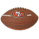NFL 49ers ボール ウィルソン/Wilson 9 Mini Soft Touch Football