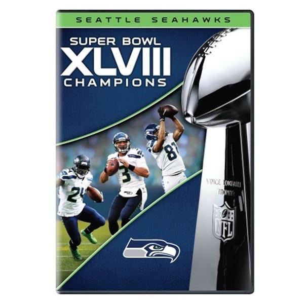 NFL Seattle Seahawks Super Bowl XLVIII Champions Collectible DVD