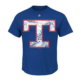 MLB Texas Rangers Cooperstown Rooted In Nostalgia T-shirt (blue) Majestic