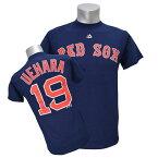 MLB レッドソックス 上原浩治 Tシャツ ネイビー マジェスティック Player Tシャツ