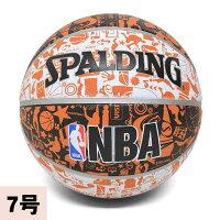 NBA バスケットボール スポルディング/SPALDING グラフティ【7号球】の画像