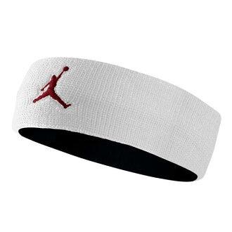 耐克 Jordan /NIKE 約旦頭帶白色和紅色的飛人