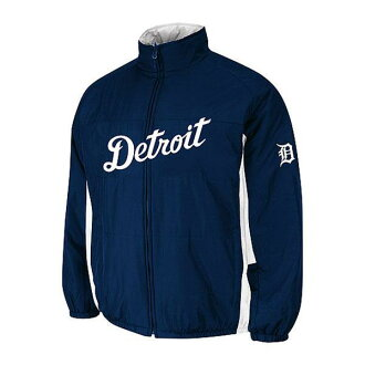 MLB Detroit Tigers Authentic Double Climate On-Field jacket (navy) Majestic
